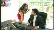 Melania Gomes sensual no filme Virados do Avesso