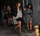 Сетедейс, фото 482. The Saturdays Arriving to a music studio in London - 14.11.2011, foto 482