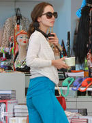 Eliza Dushku - shopping in West Hollywood 09/12/12