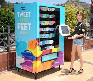 Emma Roberts leggy in a promoshoot for flip-flops in LA 06-18-2014