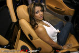 Vida Guerra LOOKING HOT IN white @ an import show!