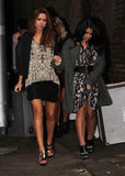 Сетедейс, фото 486. The Saturdays Arriving to a music studio in London - 14.11.2011, foto 486