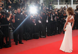 Cheryl Cole leggy at Outside The Law Premiere at 63rd Cannes Film Festival - Hot Celebs Home