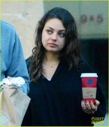 Mila Kunis - leaving the Manhattan Bagel shop in Studio City 1/6/13