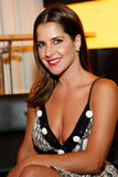 Kelly Monaco shows nice cleavage at her birthday celebration at the Planet Hollywood Resort & Casino in Las Vegas