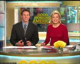 "DIANE SAWYER sheer - ""Good Morning America"" (May 8, 2008) - *tight top, slightly sheer*"